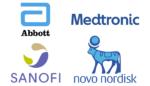 abbott-sanofi-medtronic-novo-nordisk